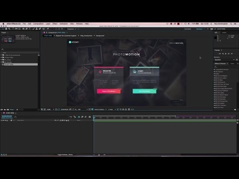 Tutorial: Integnity PhotoMotion for After Effects