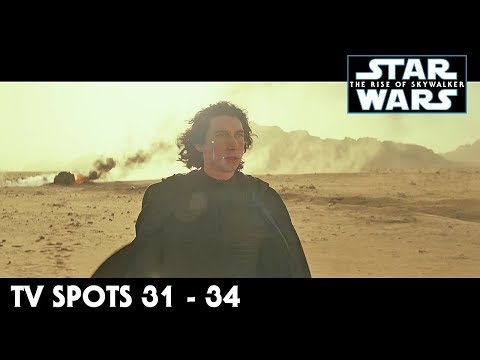 Star Wars The Rise of Skywalker TV Spot Trailers 31 - 34