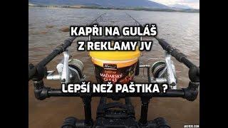 Kapři na guláš z reklamy JV.