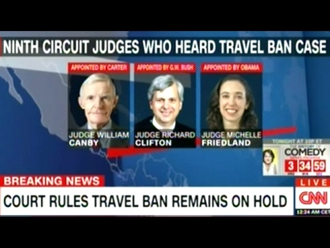 Appeals Court Refuses To Reinstate President Trump's Travel Ban!