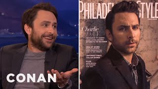 Charlie Day's Douchey Photoshoot  - CONAN on TBS