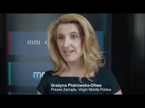 G. Piotrowska-Oliwa, Prezes Virgin Mobile Polska o Warsaw International Media Summit
