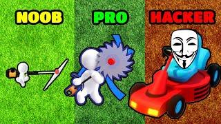 NOOB vs PRO vs HACKER - Mow My Lawn - Cutting Grass screenshot 3