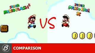SUPER MARIO FLASH 2 | ORIGINAL VS REMAKE