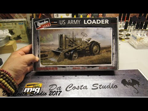 Thunder - US Army Loader 1:35 Scale Kit - Review By Da Costa