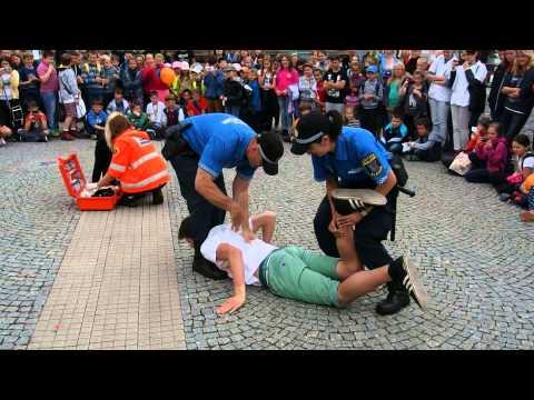 Ukázka zásahu Městské policie Kladno