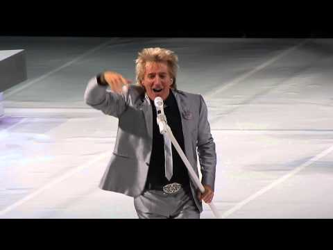 Rod Stewart This Old Heart Of Mine (Concert Opening) Air Canada Center Toronto Dec 15 2013
