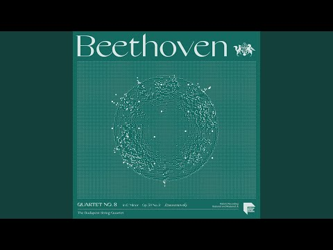 "Quartet No. 8 In E Minor, Op. 59 No. 2 ""Rasoumovsky"": IV. Presto"