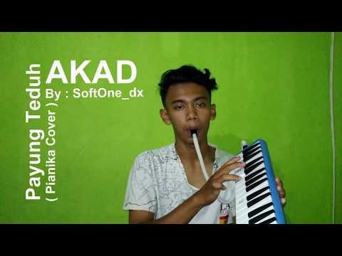 Akad - Payung Teduh [ Pianika/Melodica & Guitar Cover ] Versi GALAU!
