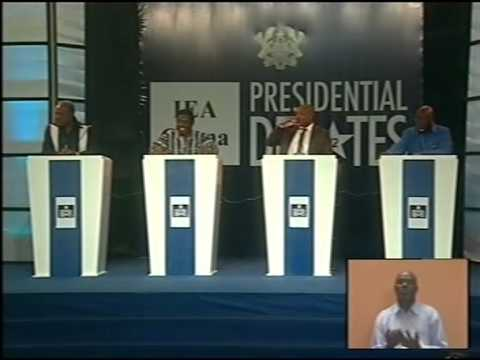 IEA PRESIDENTIAL DEBATE 2102 TAMALE EDITION