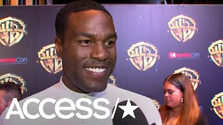 Yahya Abdul-Mateen II On Playing 'Aquaman's' Arch Nemesis Black Manta | Access