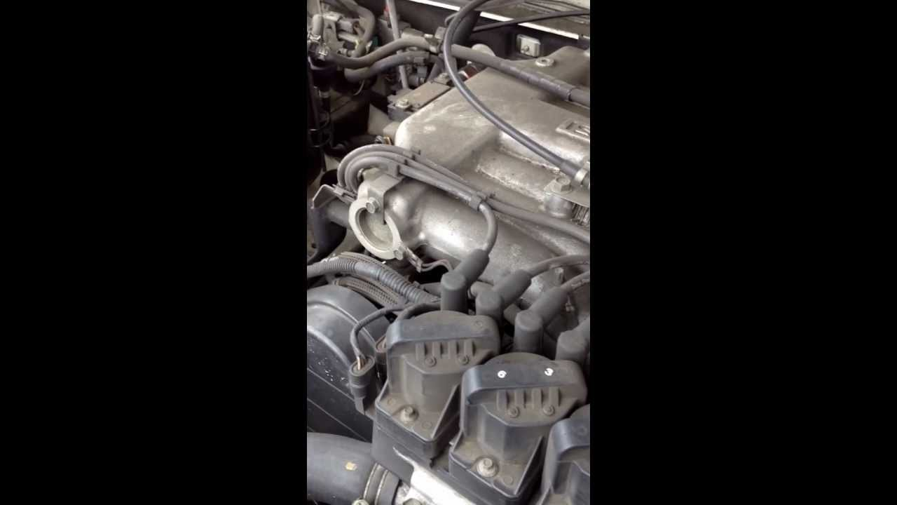 hight resolution of unknown noise from 1995 isuzu rodeo 3 2l v6 engine