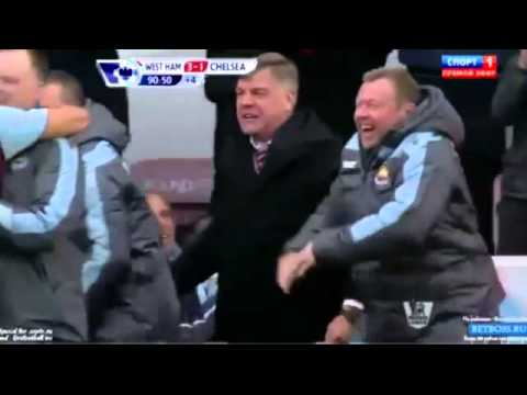 West Ham United 3-1 Chelsea - Sam Allardyce - Passion - 1-12-2012