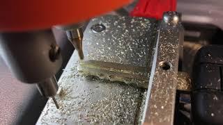 Изготовление чип ключа Nissan на станке ЧПУ в Самаре.