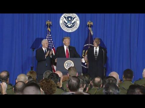 President Trump speaks at Dept. of Homeland Security