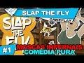 SLAP THE FLY COOP #1 - JOGO COMÉDIA PRA CARALHO! / 1080p PT-BR