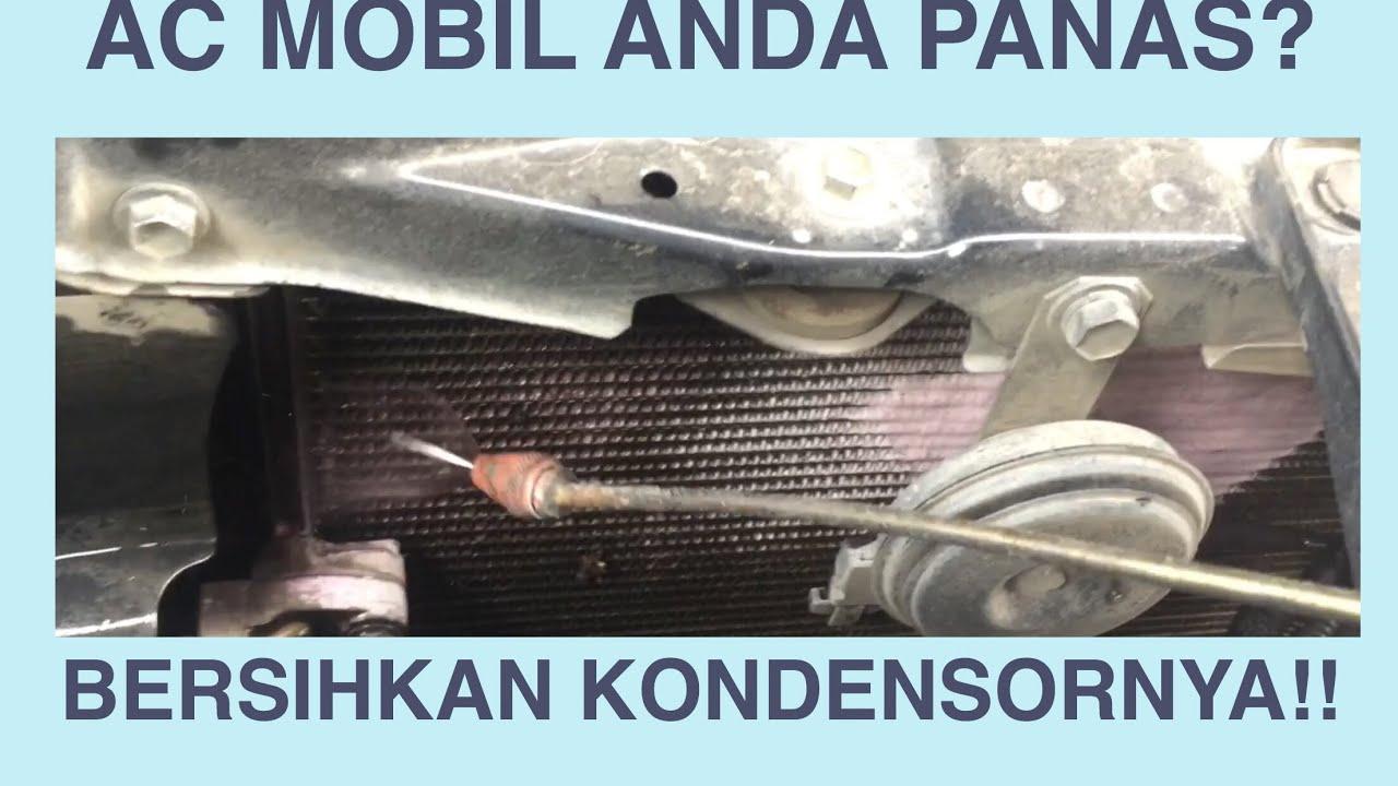 Cara Bersihkan Kondensor Ac Mobil Yang Jarang Di Ketahui Youtube Daihatsu Terios Denso