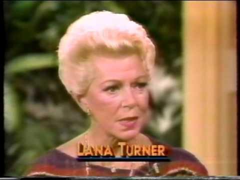 Lana Turner, David Hartman, 1983 TV