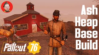 Fallout 76: Base Build - Welch (We Build a House in the Ash Heap)