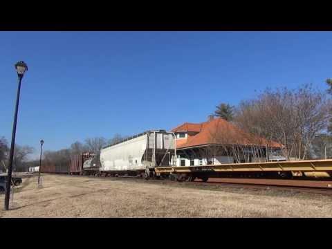 HRT: Hartwell Railroad (Short Line, Regional Railroad), Lavonia GA