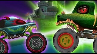 Haunted House Monster Truck -  Rise Of The Crypt Keeper  | Episode 16