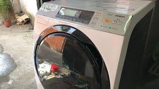 241020...Mới về... Máy giặt nội địa Nhật Panasonic NA-VX850SL date 2015 giặt 10kg sấy 6kg (block)
