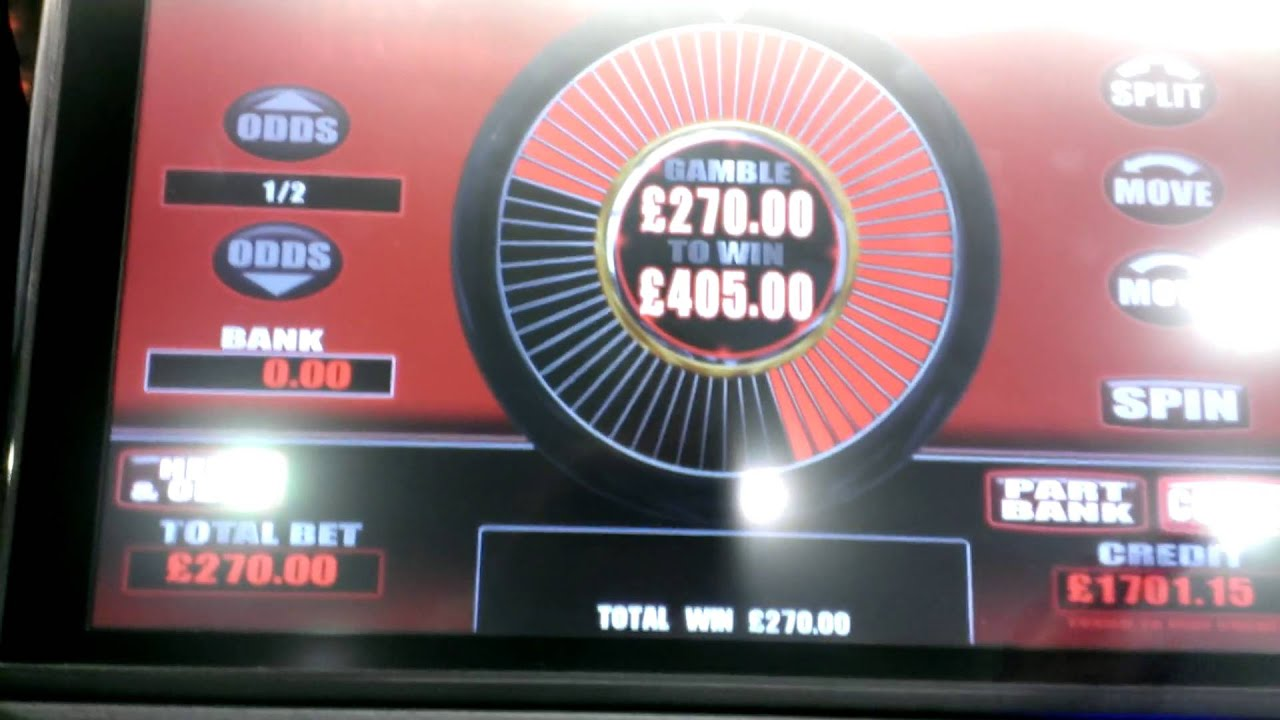 Biggest win on a roulette machine canada gambling trends