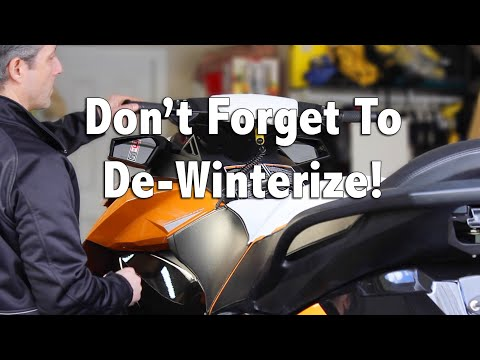 How To De Winterize Your Sea Doo 4 TEC Jet Ski YouTube