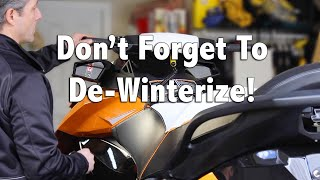 How To De-Winterize Your Sea-Doo 4-TEC Jet Ski