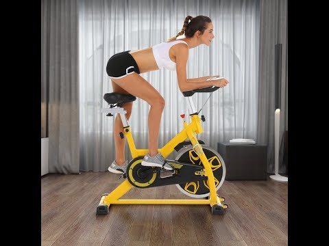 ANCHEER Spin Bike, Stay at home spin at ease.