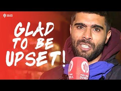 GLAD TO BE UPSET! Manchester United 0-2 PSG Paris Saint-Germain