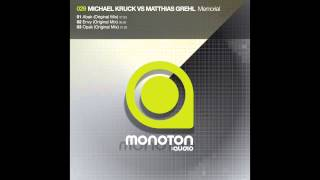 MNTN029 - Michael Kruck Vs. Matthias Grehl - Abak (Original Mix)