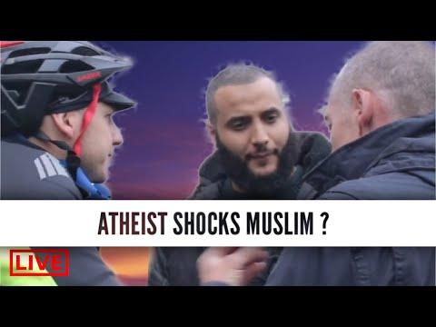 ATHEIST SHOCKS MUSLIM  #Mo-Hijab
