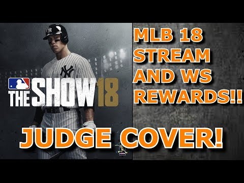JUDGE COVER, WS REWARDS, AND A DEV STREAM!!! - MLB The Show 17