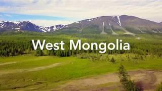 【蒙古國 Mongolia】 西蒙古完整介紹空拍影片 West Mongolia Introduction