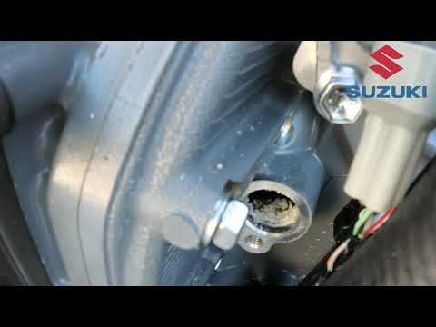 Suzuki DF140 – how to replace the anodes
