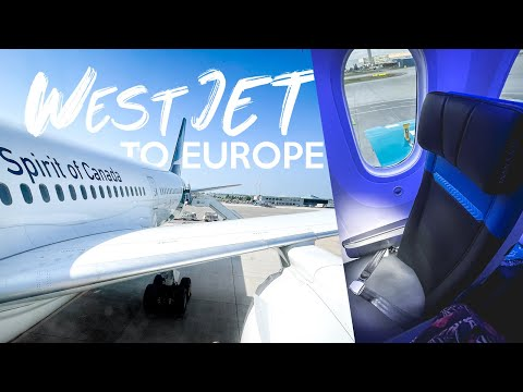 FLYING TO EUROPE IN 2021 | WestJet 787 Trip Report Calgary To Amsterdam