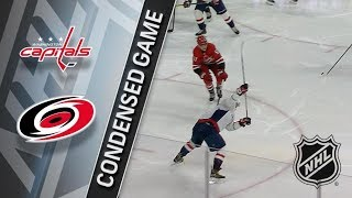 Washington Capitals vs Carolina Hurricanes – Jan. 12, 2018 | Game Highlights | NHL 2017/18. Обзор