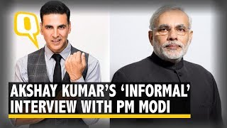 Akshay Kumar in an 'Informal & Non-Political' Interview with PM Modi