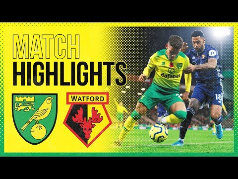 HIGHLIGHTS | Norwich City 0-2 Watford