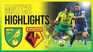 Highlights | Norwich City 0 2 Watford