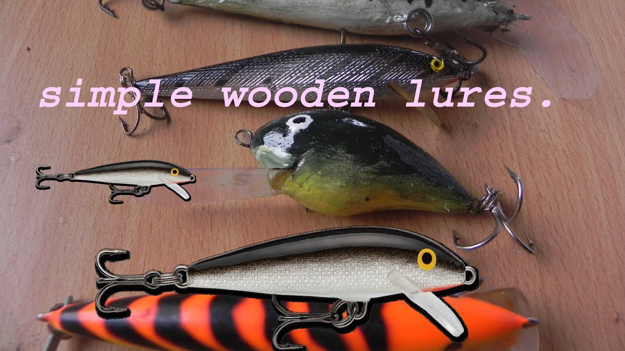 How To Make Cheap And Easy Wooden Fishing Luresdiy