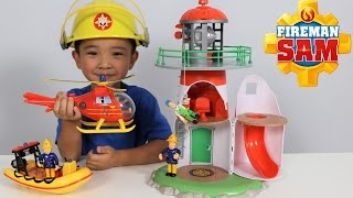 Fireman Sam Lighthouse Playset Toys Unboxing Fun With Wallaby Neptune Ckn Toys thumbnail