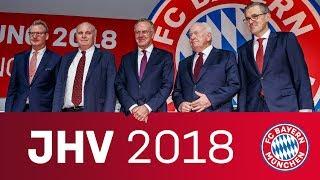 FC Bayern Jahreshauptversammlung 2018 🔴⚪