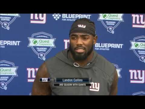 Landon Collins looks to step up for New York Giants