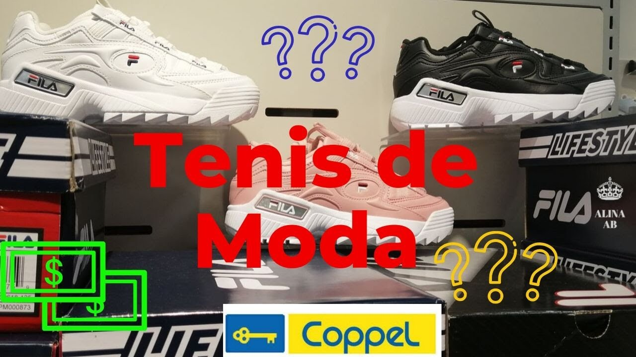 Los Tenis de Moda los consigues en Coppel, descubre el precio.
