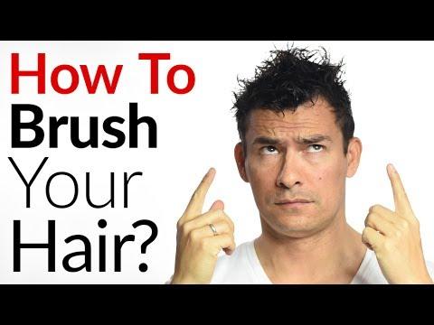 brush hair. correctly