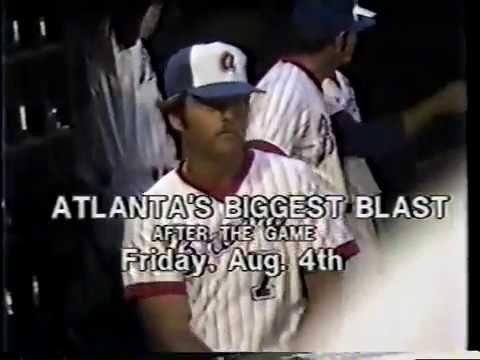 Vintage Atlanta Braves TV Commercials - 1978