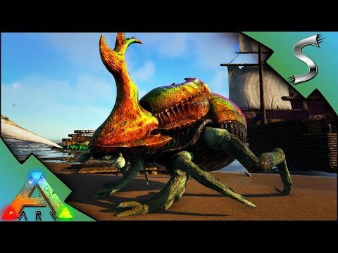 ALPHA MEGALODON & PRIME DUNGBEETLE TAMING! | Modded ARK: EXTINCTION CORE [E6]