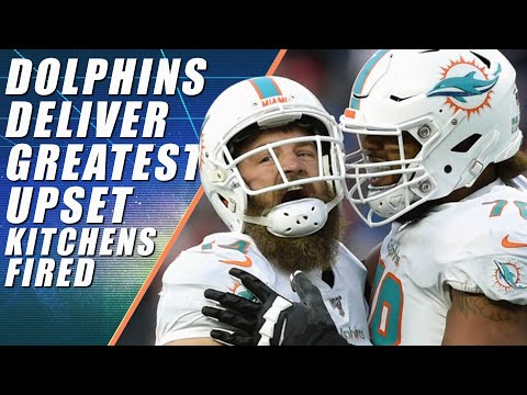 Patriots Lose To Dolphins FitzMagic & Freddie Kitchens Fired.